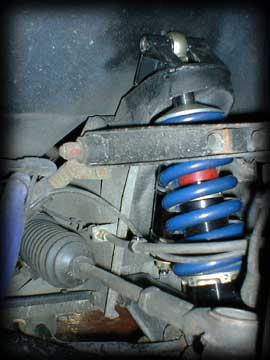Esprit GT1 Replica: Suspension